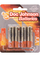 Doc Johnson Batteries Aa (4 Pack)