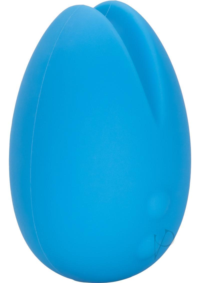 Mini Marvels Marvelous Eggciter Silicone Rechargeable Massager - Blue